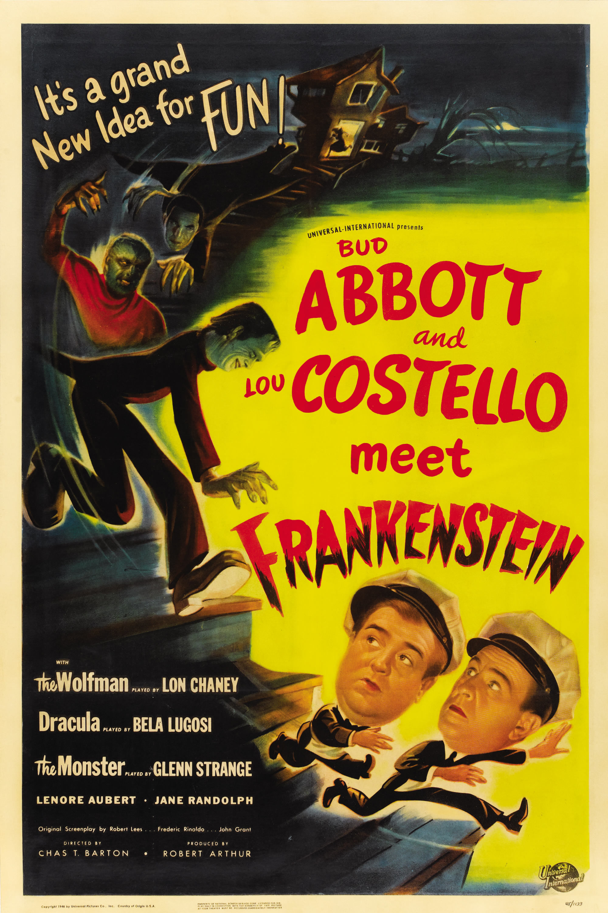 [FCPS] ABBOTT AND COSTELLO MEET FRANKENSTEIN