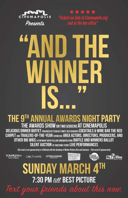 "2018 ""And the Winner Is…"" Awards Night Party"
