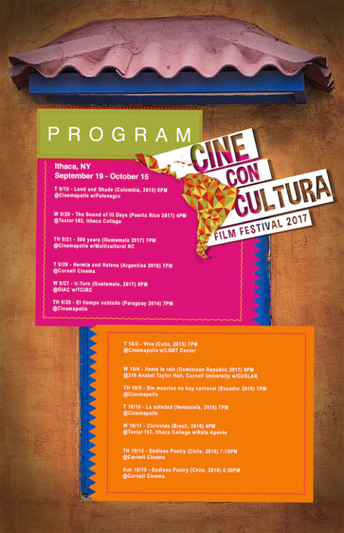 CULTURA Ithaca Presents 4th Annual Film Fest