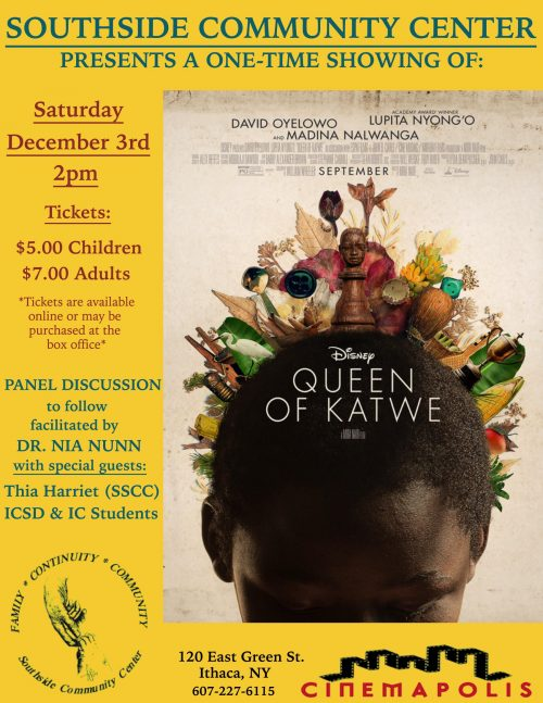 Southside Community Center presents Queen of Katwe