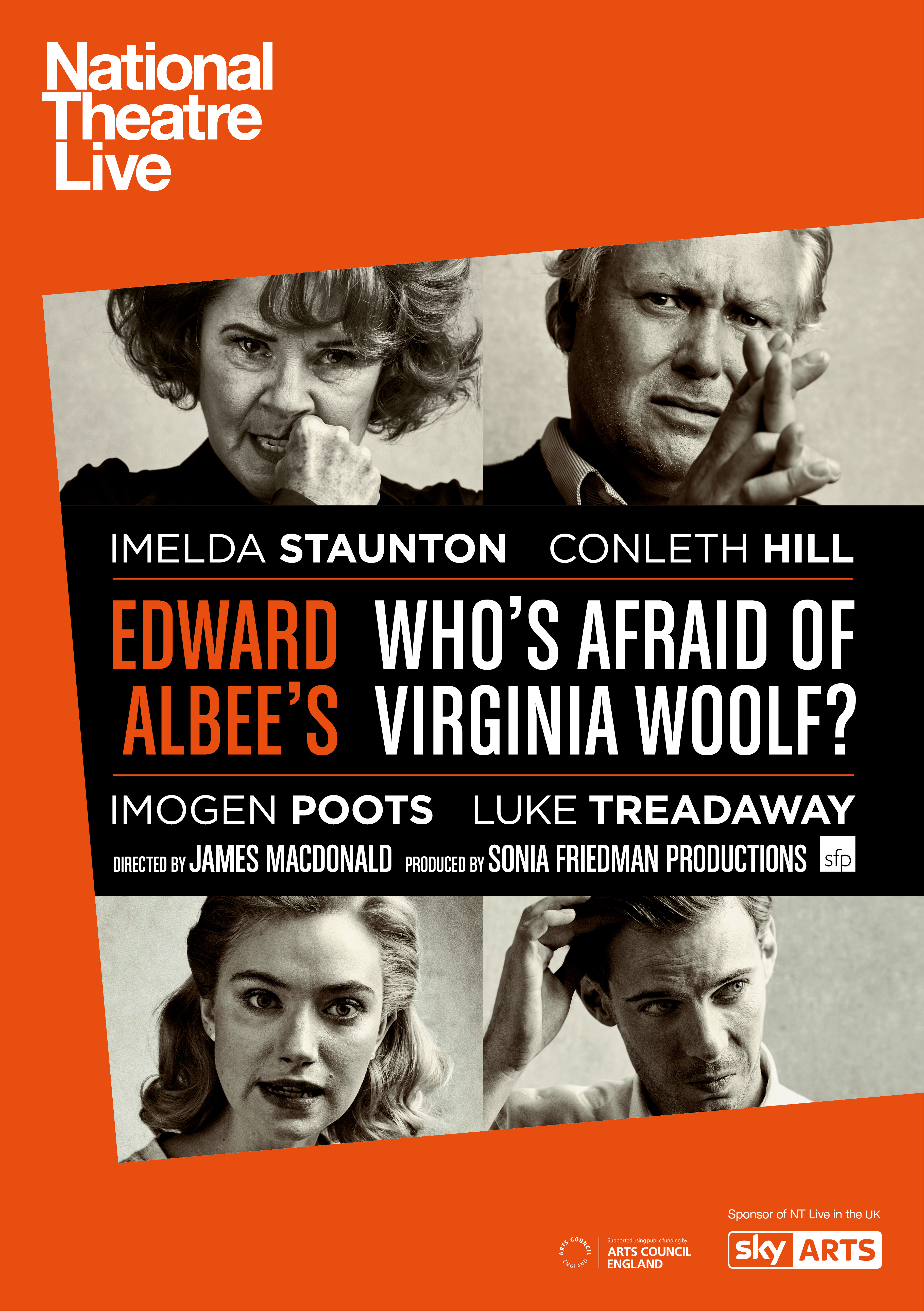 whos afraid of virginia woolf the We don't have the tradition of the alan smithee credit in the theatre if we did, this production of edward albee's who's afraid of virginia woolf would probably deserve one.