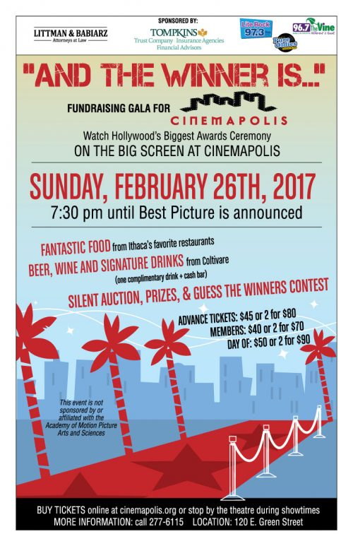 """2017 """"And The Winner Is…"""" Gala Event"""