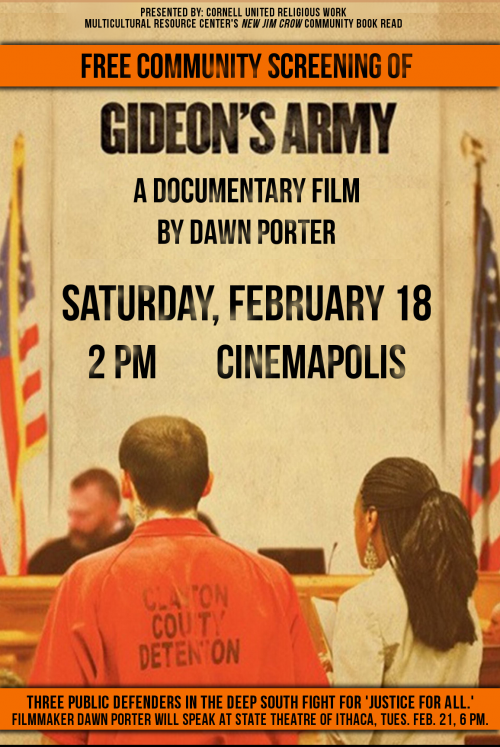 Film Screening presented by New Jim Crow Community Book Read
